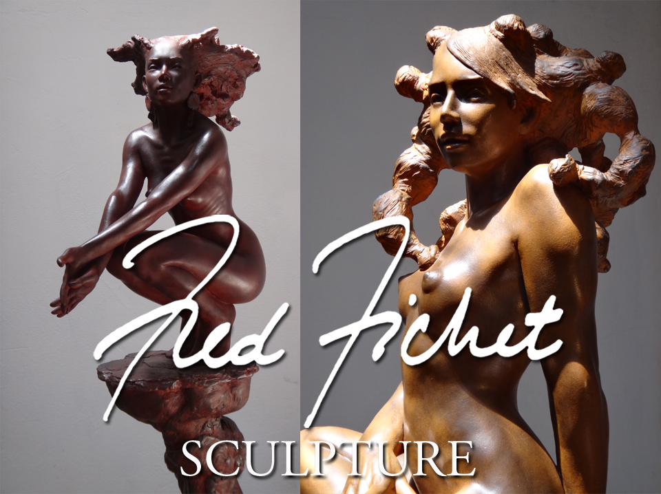 Fred Fichet - Sculpture - Nu - Emotion et sensibilit�